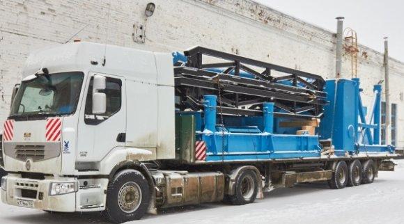Кунгурский машзавод отгрузил новую буровую установку