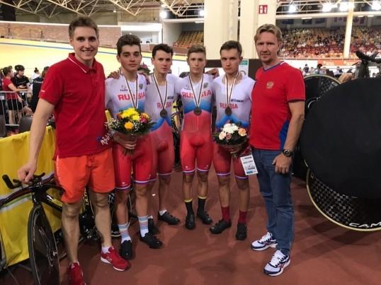 Кунгурский велогонщик стал призёром на чемпионате мира