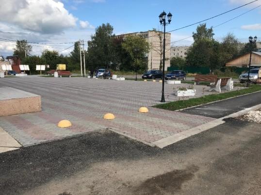 В Кунгуре по нацпроекту благоустроили городскую площадь и спуск