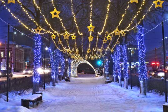 Жители Прикамья впервые смогут составить новогодний маршрут онлайн