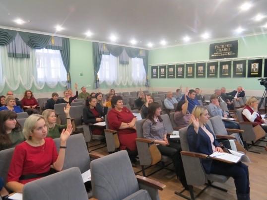 Новому составу Молодежного Парламента в Кунгурском районе вручили удостоверения