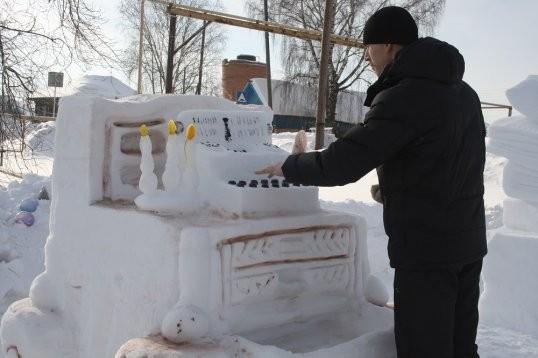 В Кунгурском районе пройдет конкурс «Снежных фигур»