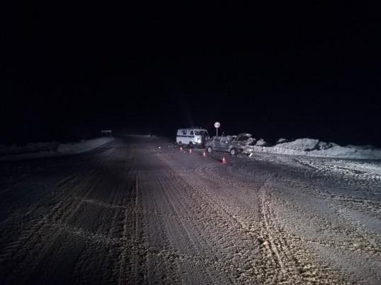 Сегодня на автодороге Кунгур-Насадка произошло смертельное ДТП