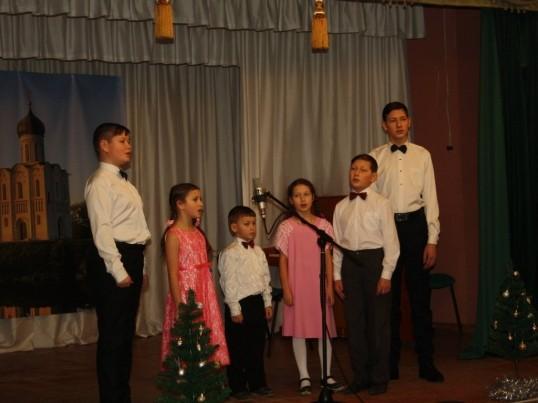 Благотворительный Рождественский концерт в Кунгурском монастыре