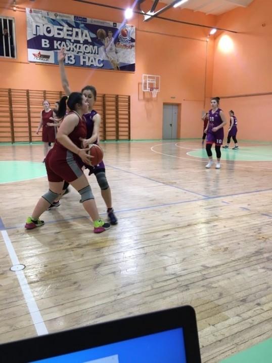В Кунгурском районе прошло первенство по баскетболу среди девушек