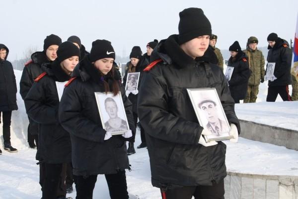 Во имя памяти защитников свободы
