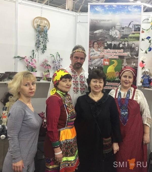Мастера из Кунгурского района показывают класс