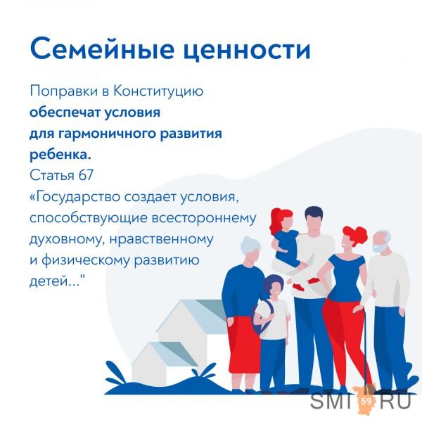 Какие конкретно поправки в Конституцию РФ будут вынесены на голосование 1 июля?