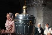 Престольный праздник в восстанавливаемом храме Рождества Иоанна Предтечи в Кунгурском женском монастыре [ФОТОРЕПОРТАЖ]