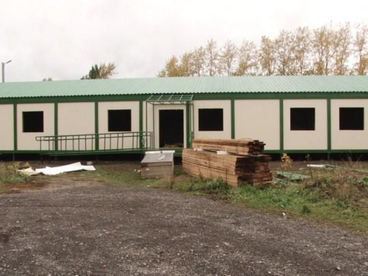 В Кунгурском районе ведется строительство амбулатории