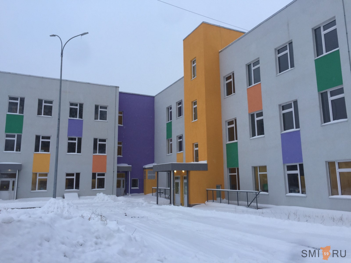 В Свердловском районе Перми завершилось строительство детской поликлиники